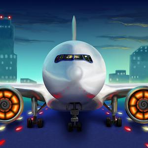 самолет и транспортер