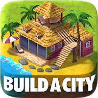 Town Building Games: Tropic City Construction